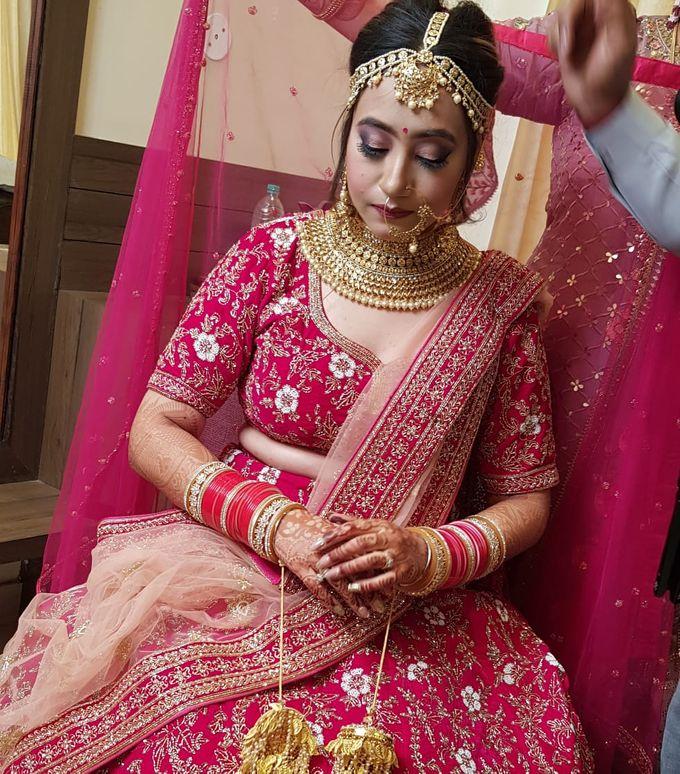 Shades Of Bridal makeups by Makeover By Garima Baranwal - 037