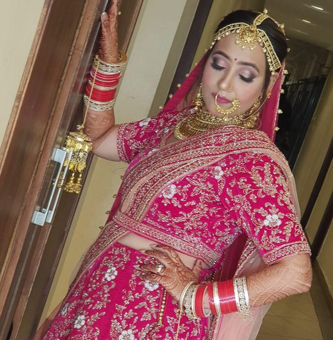Shades Of Bridal makeups by Makeover By Garima Baranwal - 028
