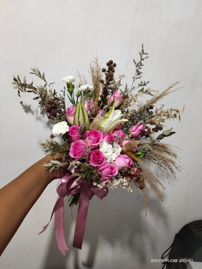 Wedding Bouquet by Bougenville Decoration - 014