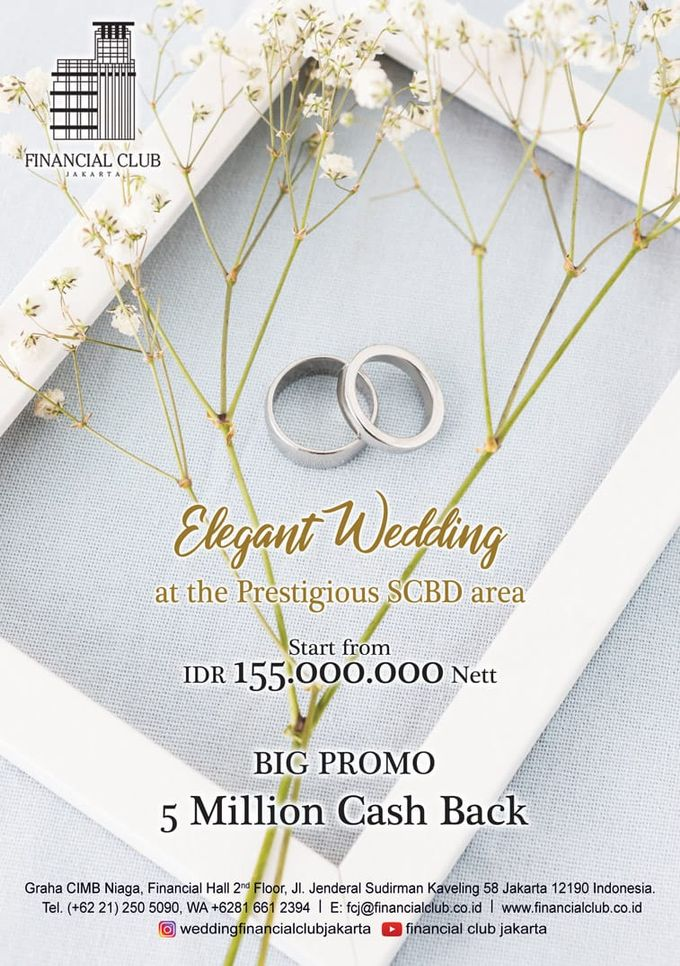 Elegant Wedding by Financial Club Jakarta - 002