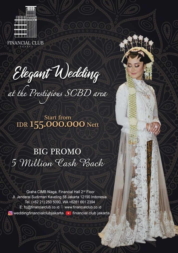Elegant Wedding by Financial Club Jakarta - 001