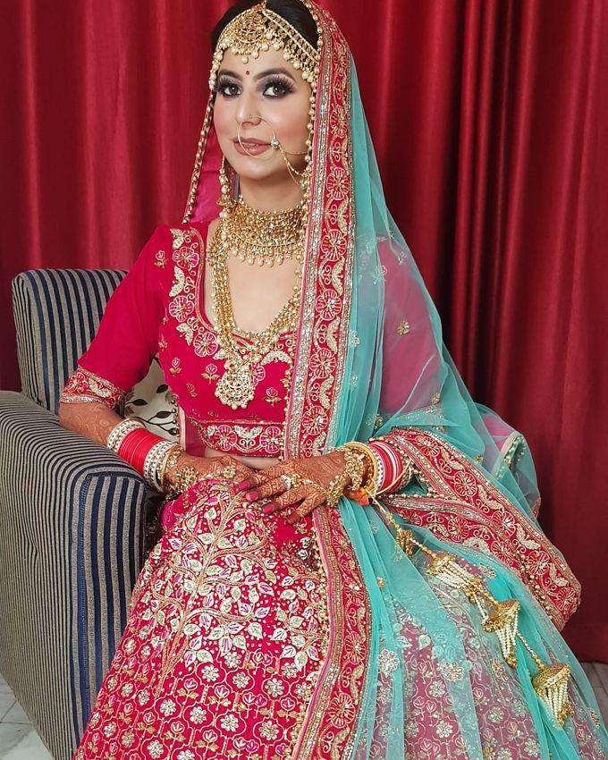 Shades Of Bridal makeups by Makeover By Garima Baranwal - 013