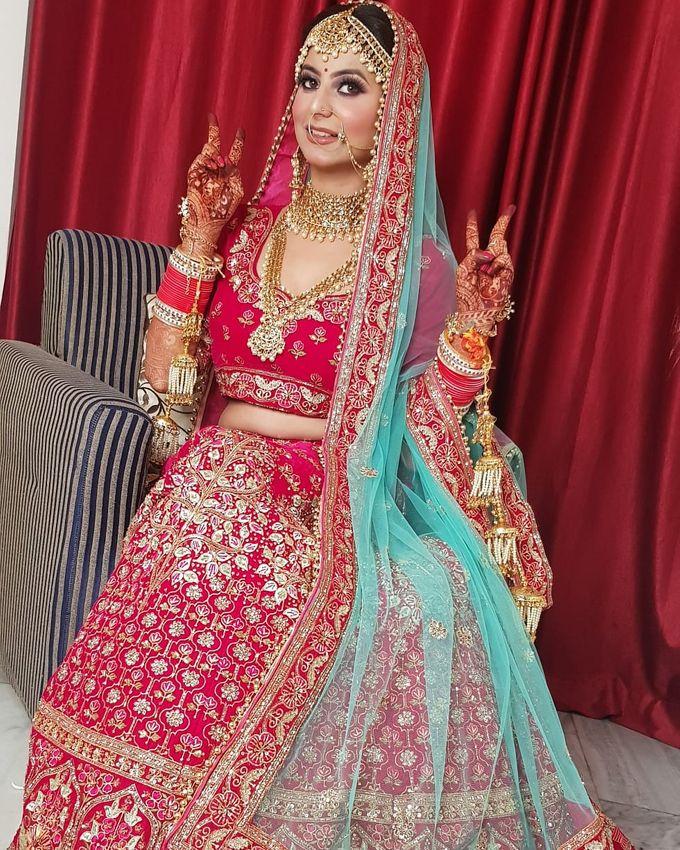 Shades Of Bridal makeups by Makeover By Garima Baranwal - 014