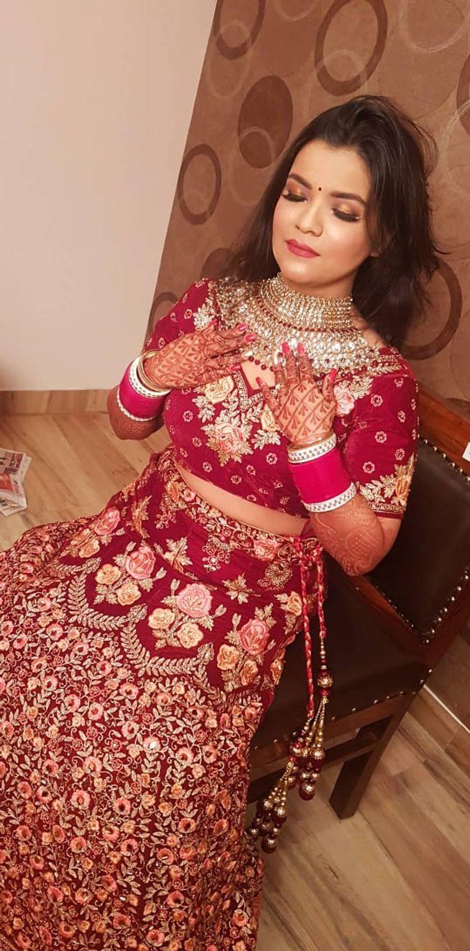 Shades Of Bridal makeups by Makeover By Garima Baranwal - 004
