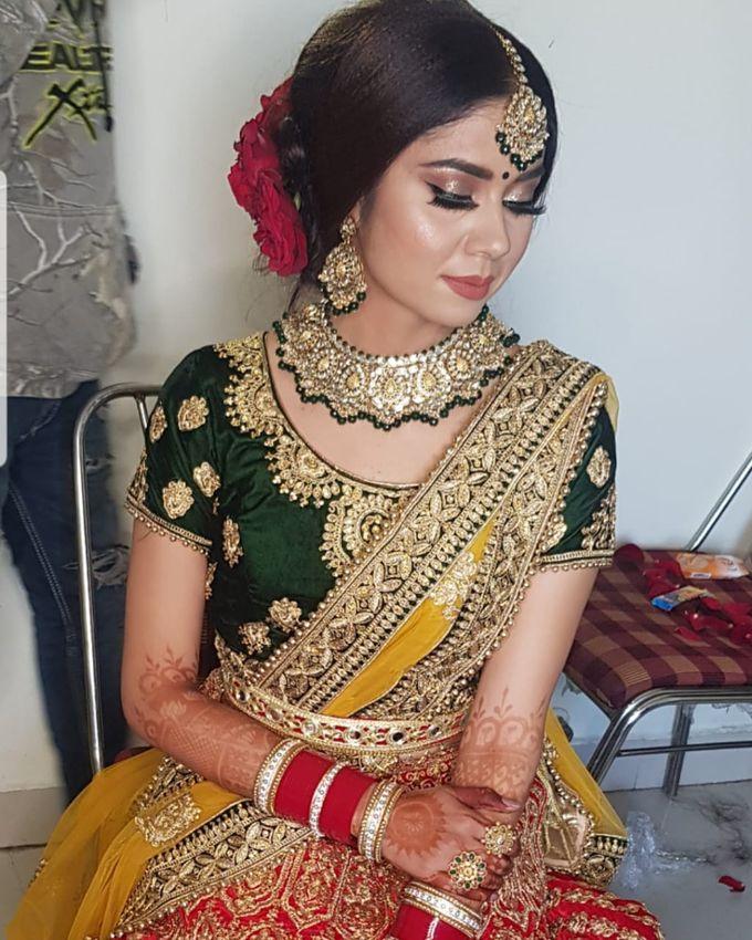 Shades Of Bridal makeups by Makeover By Garima Baranwal - 029