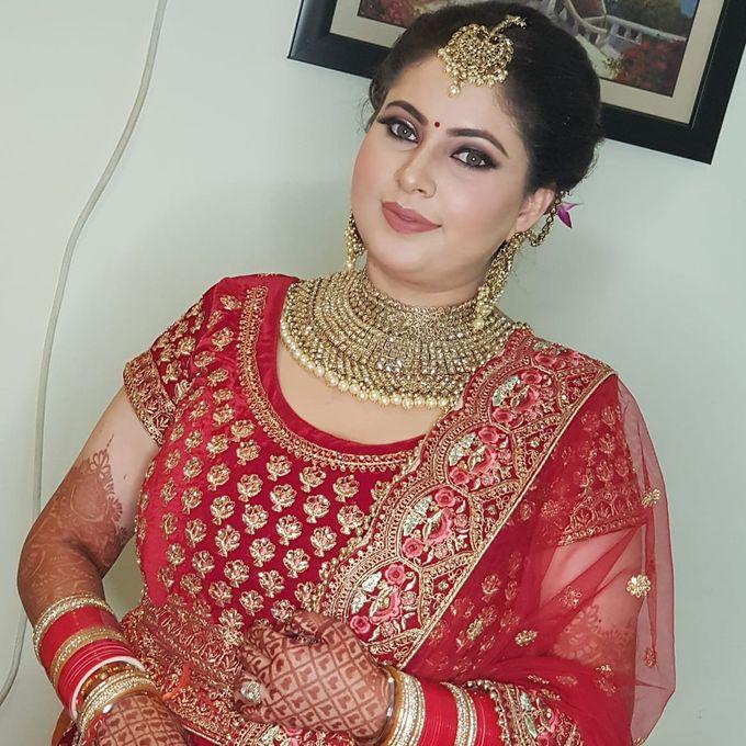 Shades Of Bridal makeups by Makeover By Garima Baranwal - 009