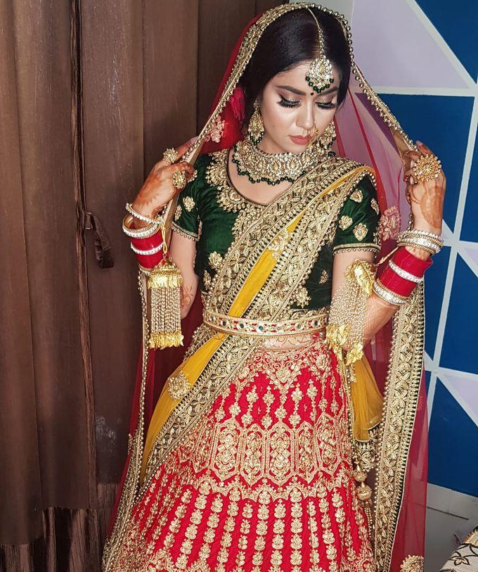 Shades Of Bridal makeups by Makeover By Garima Baranwal - 039