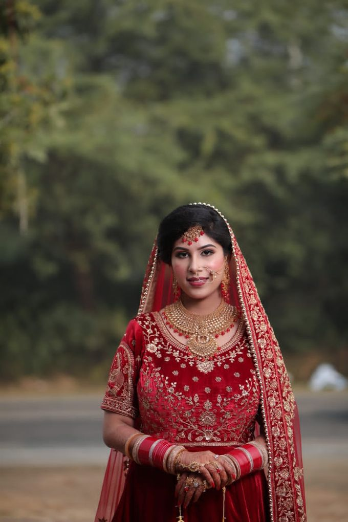 Shades Of Bridal makeups by Makeover By Garima Baranwal - 034