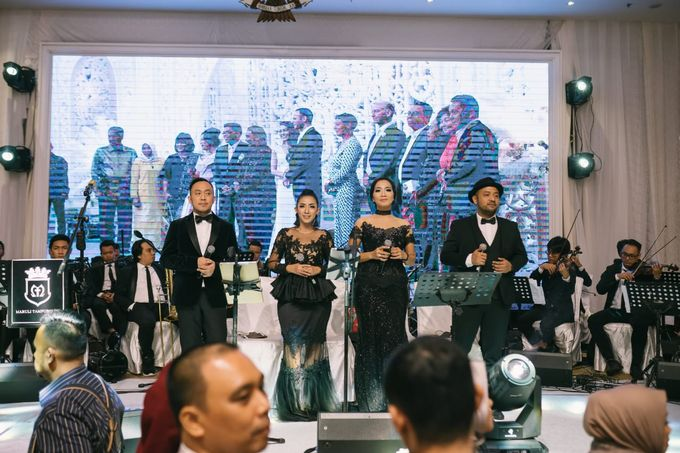 Wedding of Christopher Froggat & Maria Isadora by Hanny N Co Orchestra - 006