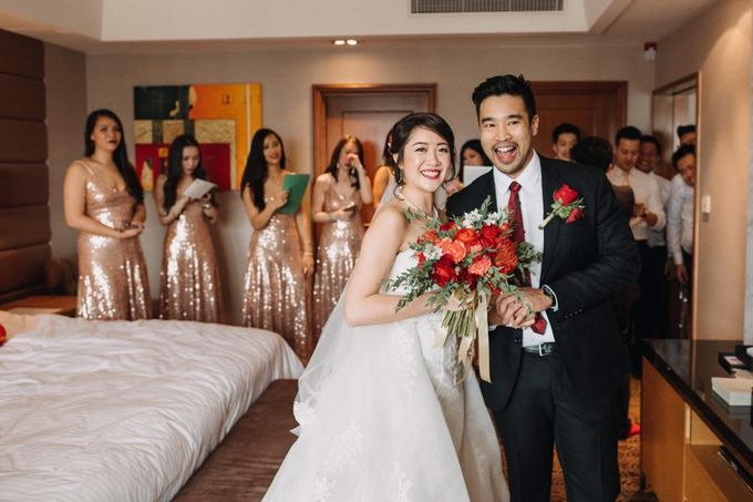 Wedding Decoration : Elegant and Dreamy by Florist By HaejaBudiman - 012