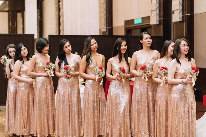 Wedding Decoration : Elegant and Dreamy by Florist By HaejaBudiman - 004