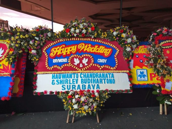 Bunga Papan Wedding by Bougenville Decoration - 008