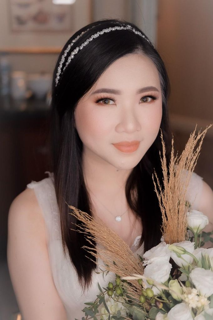 Evening Look Of The Bride Cinthya by XAVIER Makeup - 002