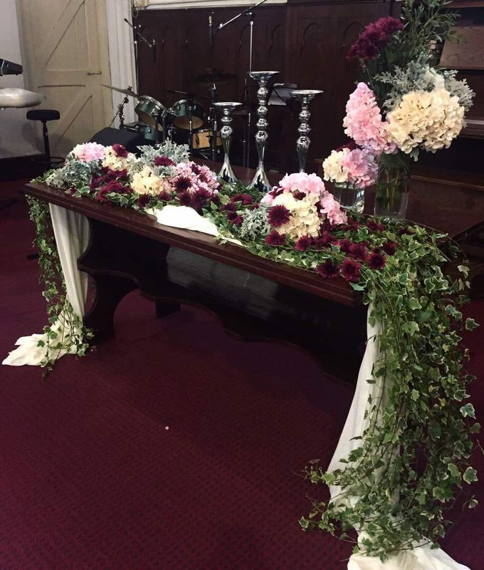 Wedding Decoration : Church by Florist By HaejaBudiman - 004