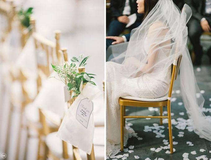 Wedding Decoration : Simple Elegant by Florist By HaejaBudiman - 013