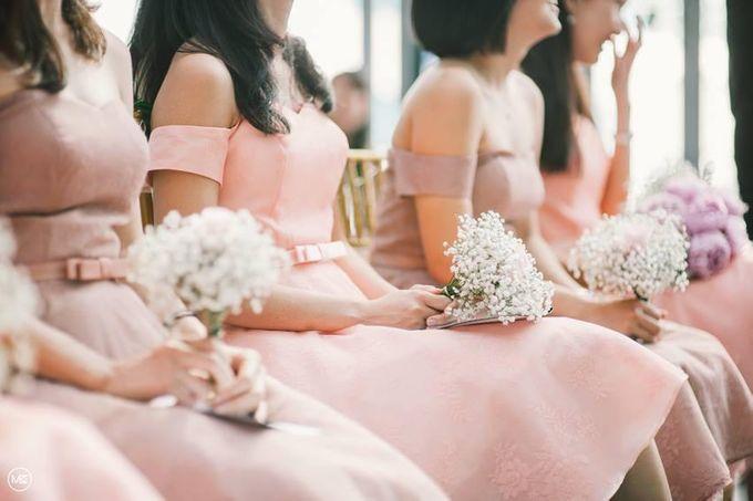 Wedding Decoration : Simple Elegant by Florist By HaejaBudiman - 006