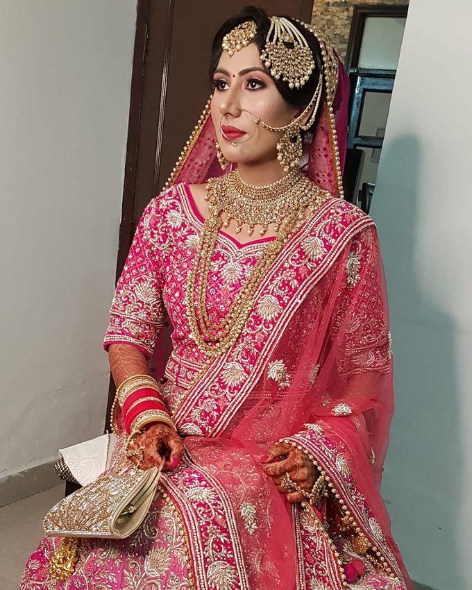 Shades Of Bridal makeups by Makeover By Garima Baranwal - 016
