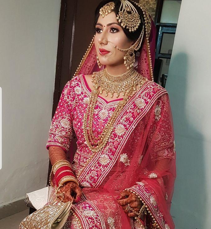 Shades Of Bridal makeups by Makeover By Garima Baranwal - 025