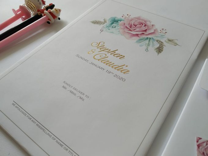 Undangan Stephen Claudia by JN Invitation - 004