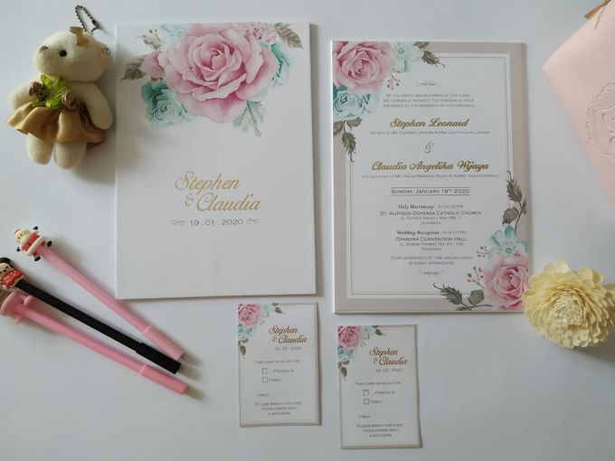 Undangan Stephen Claudia by JN Invitation - 006