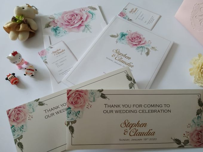 Undangan Stephen Claudia by JN Invitation - 005