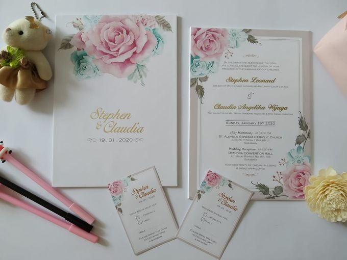 Undangan Stephen Claudia by JN Invitation - 002