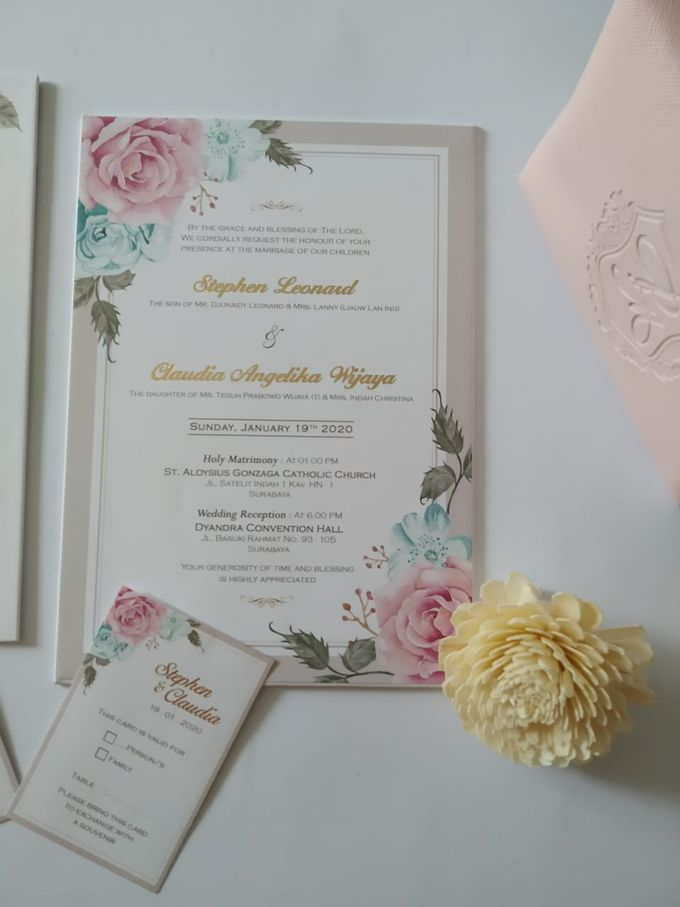 Undangan Stephen Claudia by JN Invitation - 003