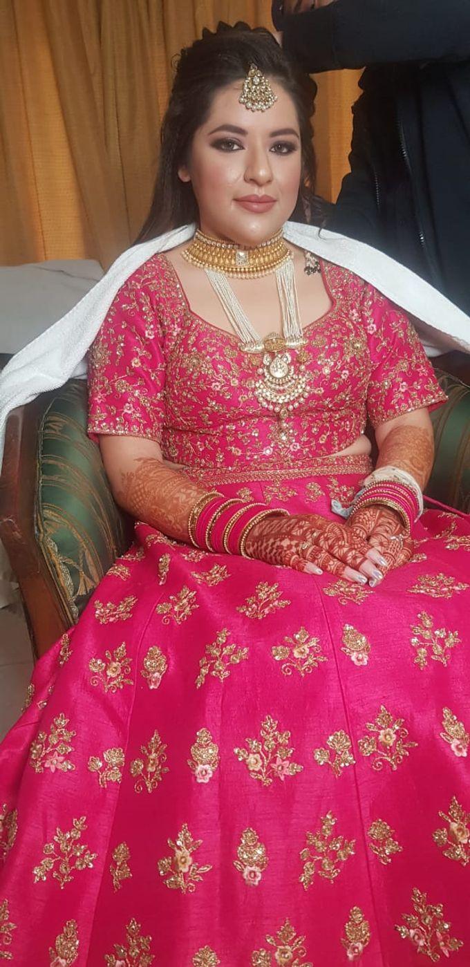 Shades Of Bridal makeups by Makeover By Garima Baranwal - 002
