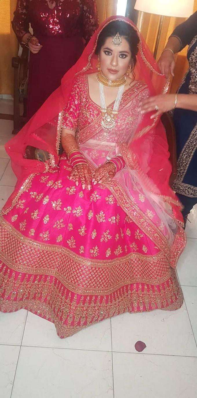 Shades Of Bridal makeups by Makeover By Garima Baranwal - 003
