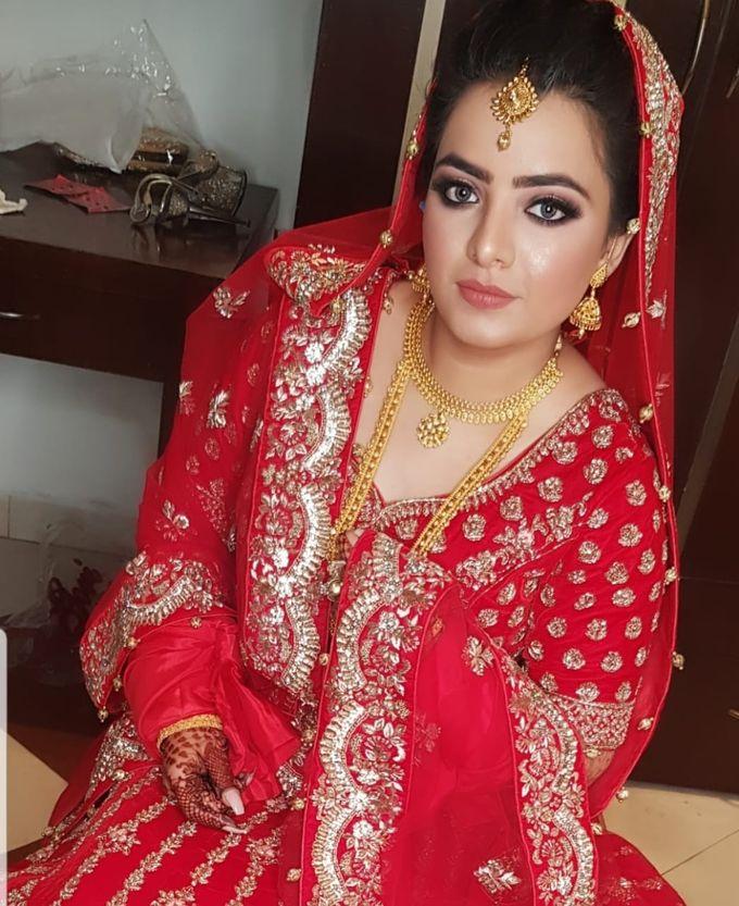 Shades Of Bridal makeups by Makeover By Garima Baranwal - 022