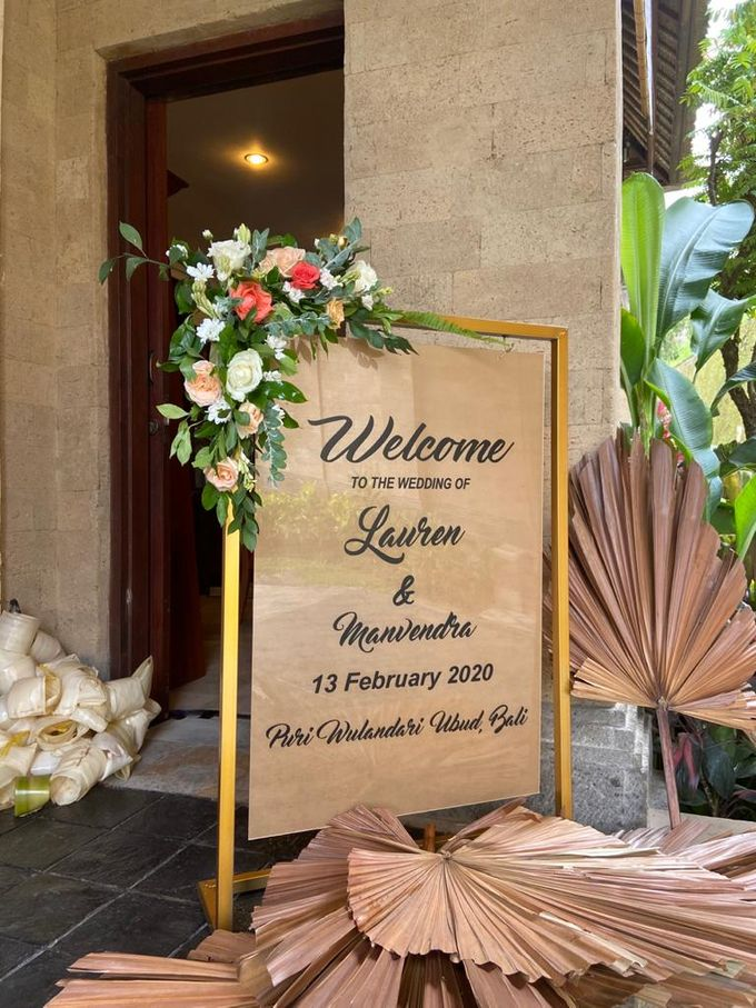 THE WEDDING LAUREN & MANVENDRA 13 FEB 2020 by Puri Wulandari, A Boutique Resort & Spa - 001