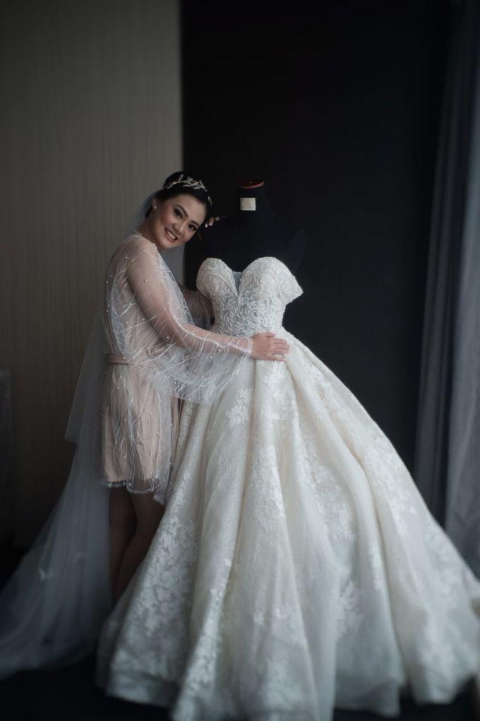 Wedding Of Johanes & Levie by Elina Wang Bridal - 017