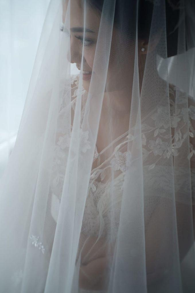 Wedding Of Johanes & Levie by Elina Wang Bridal - 020