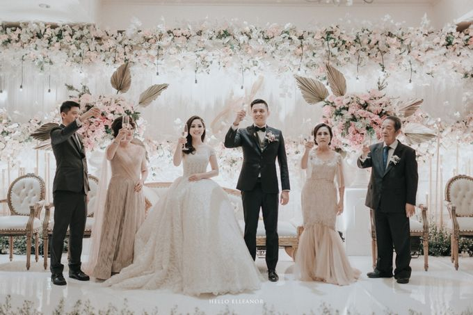 Dion & Devina - Reception by The Ritz-Carlton Jakarta, Mega Kuningan - 002