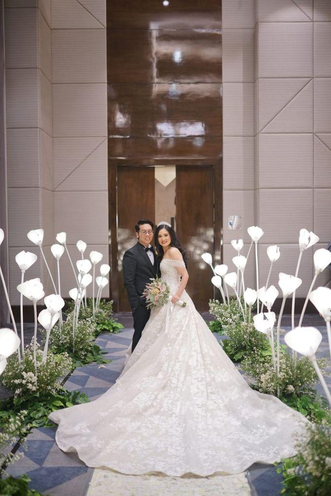 Wedding Of Johanes & Levie by Elina Wang Bridal - 011