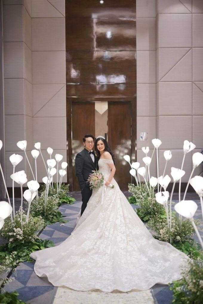 Wedding Of Johanes & Levie by Elina Wang Bridal - 001