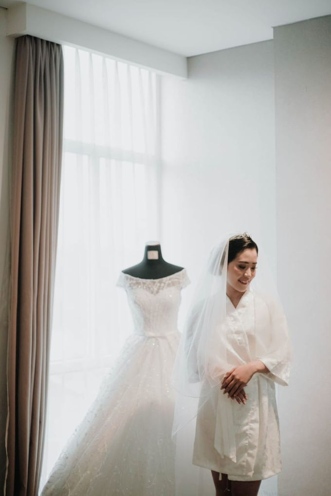Wedding Of Nael & Wiwid by Elina Wang Bridal - 003