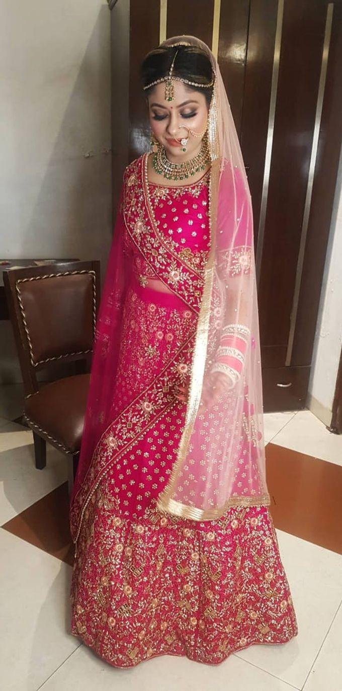 Shades Of Bridal makeups by Makeover By Garima Baranwal - 001