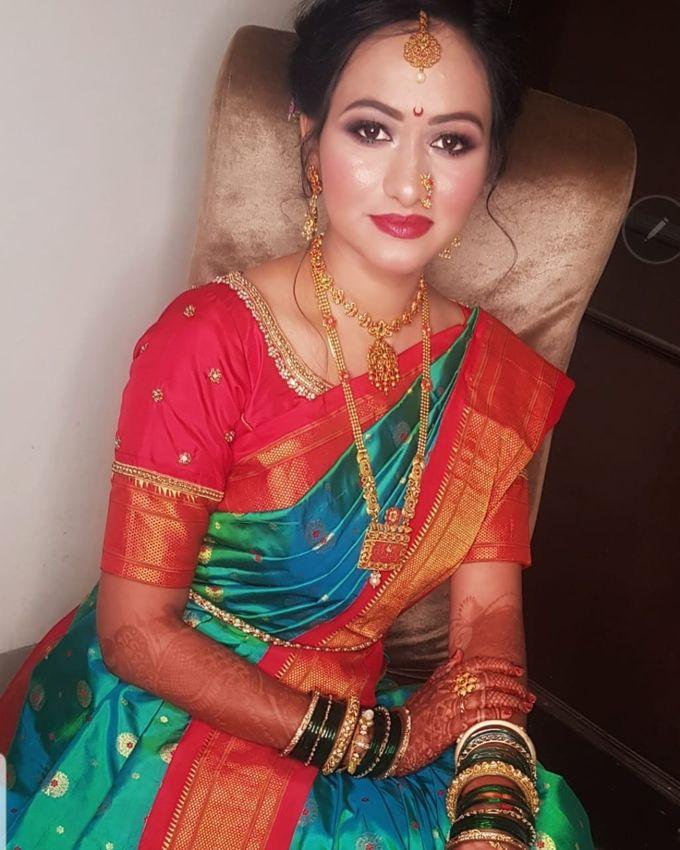 Shades Of Bridal makeups by Makeover By Garima Baranwal - 018