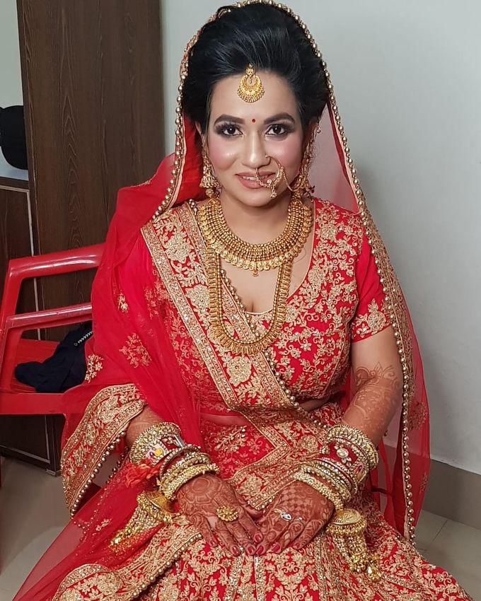 Shades Of Bridal makeups by Makeover By Garima Baranwal - 010