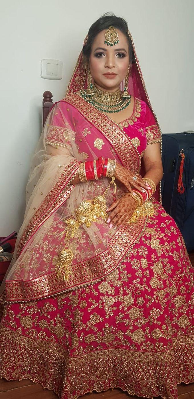 Shades Of Bridal makeups by Makeover By Garima Baranwal - 031