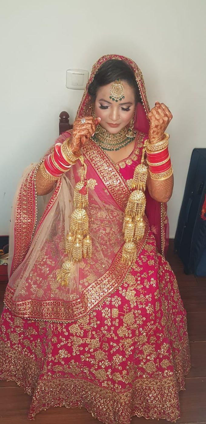 Shades Of Bridal makeups by Makeover By Garima Baranwal - 019