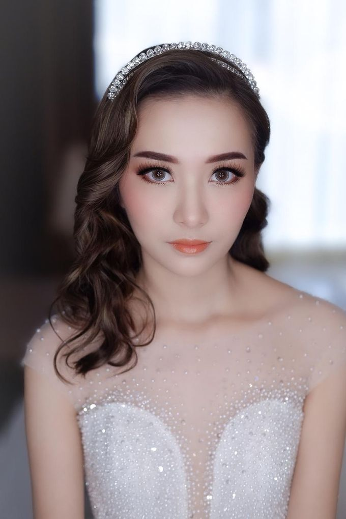 Michael & Devina Wedding Day by XAVIER Makeup - 002