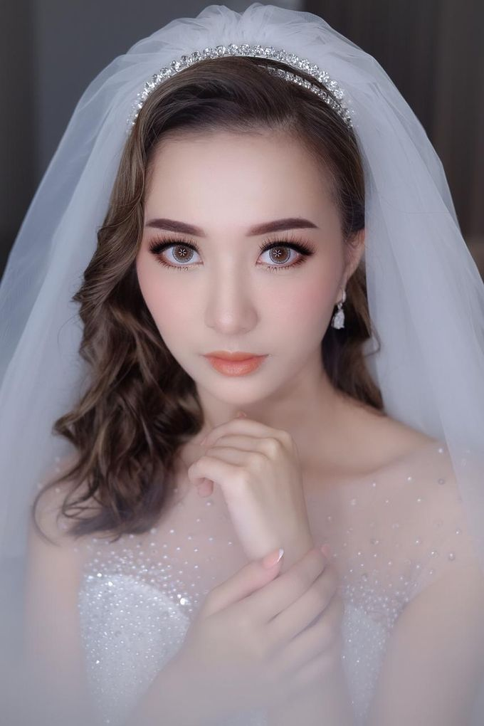 Michael & Devina Wedding Day by XAVIER Makeup - 005