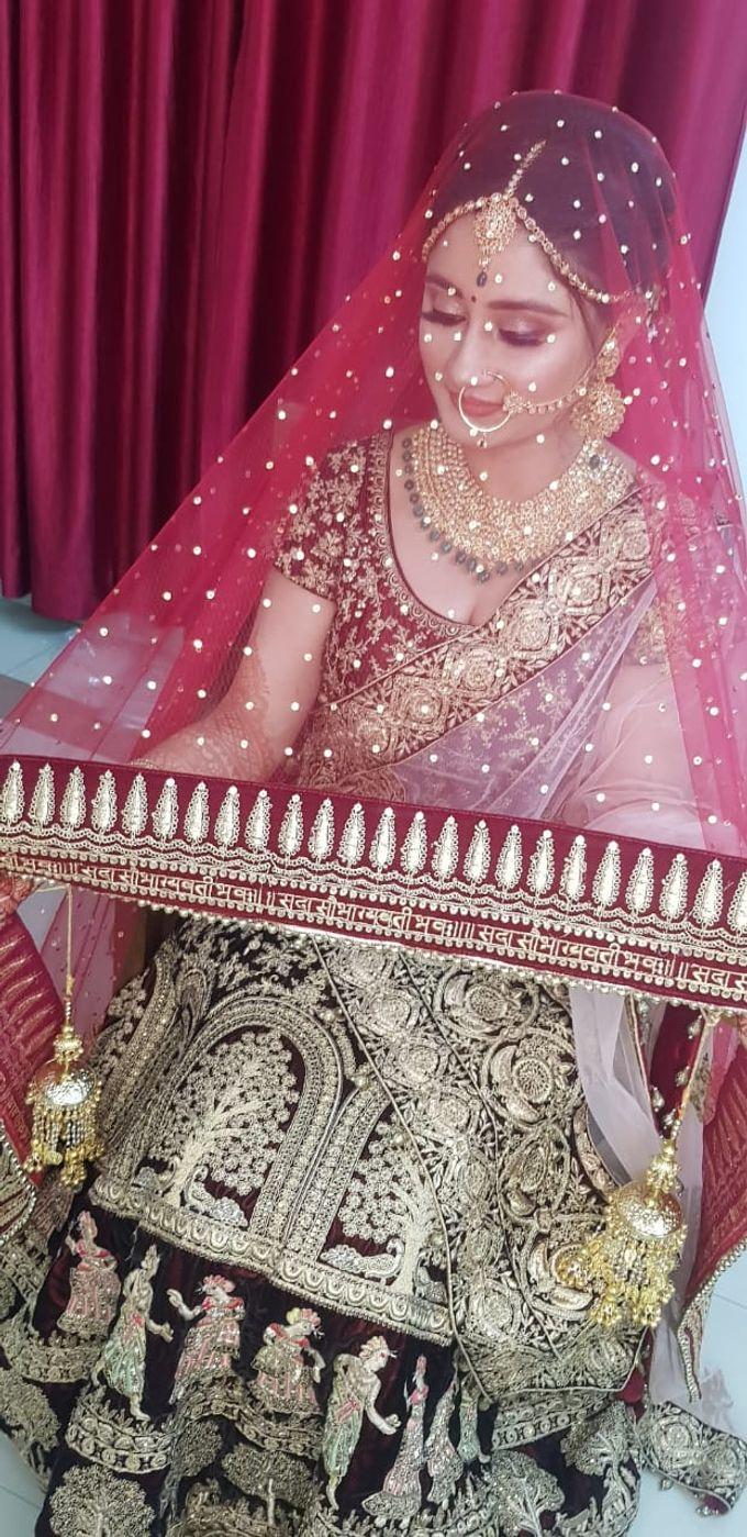 Shades Of Bridal makeups by Makeover By Garima Baranwal - 020