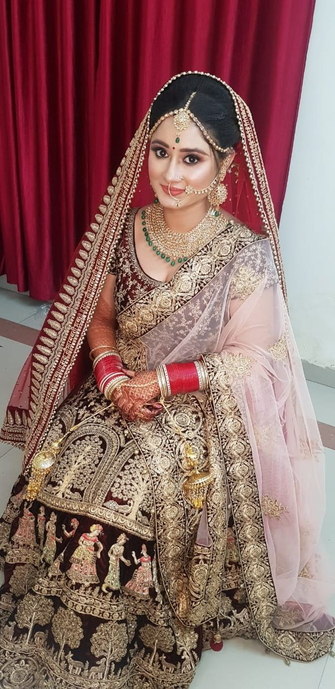 Shades Of Bridal makeups by Makeover By Garima Baranwal - 011