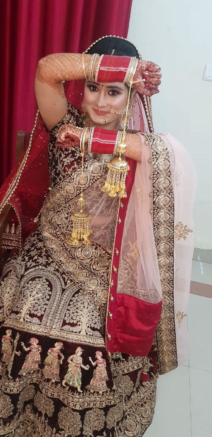 Shades Of Bridal makeups by Makeover By Garima Baranwal - 012