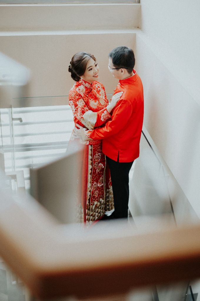 Cheongsam / Qipao by Elina Wang Bridal - 005