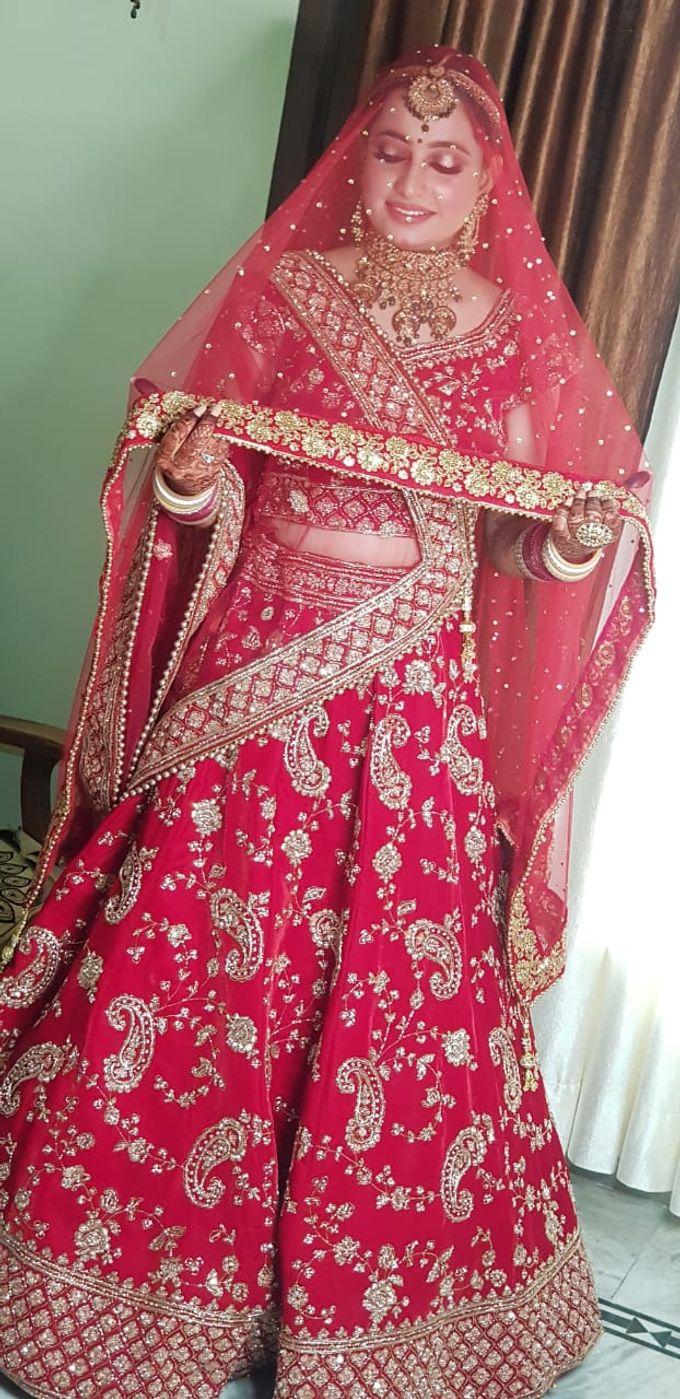 Shades Of Bridal makeups by Makeover By Garima Baranwal - 027