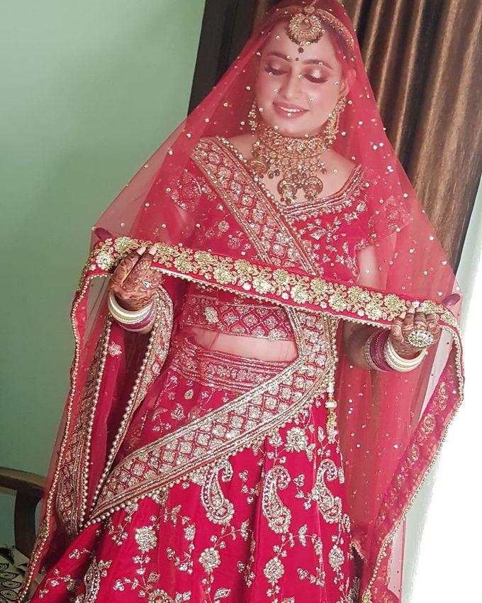 Shades Of Bridal makeups by Makeover By Garima Baranwal - 015